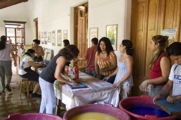 Taller en Granada - Nicaragua